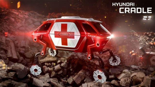 Hyundai Four-Legged 4x4 Robo-cars (3)