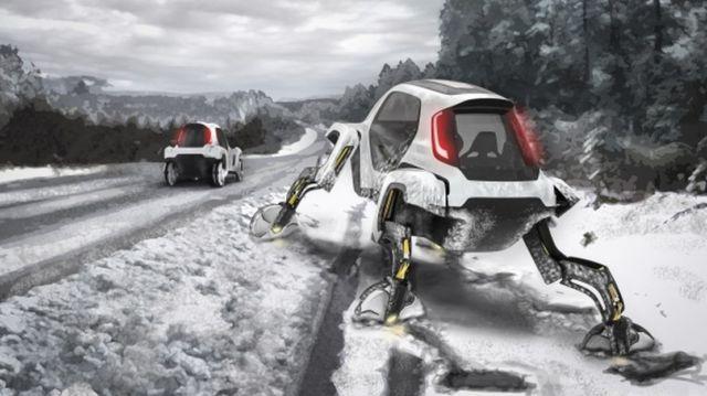 Hyundai Four-Legged 4x4 Robo-cars (1)