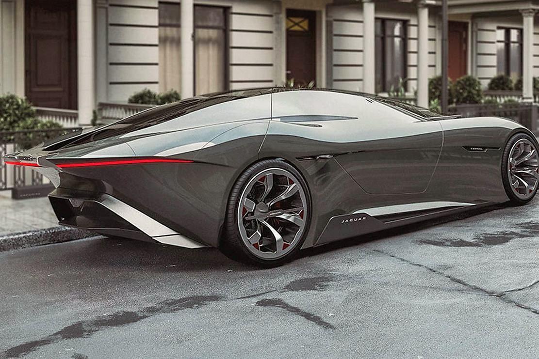 Jaguar Consul Autonomous supercar concept