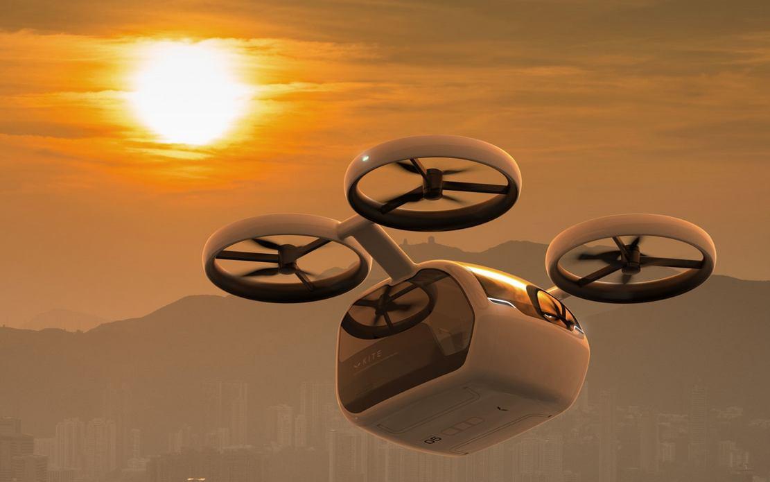 KITE Passenger Drone concept (9)