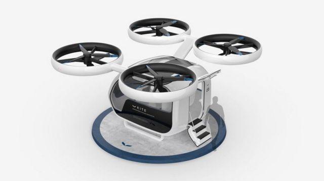 KITE Passenger Drone concept (8)
