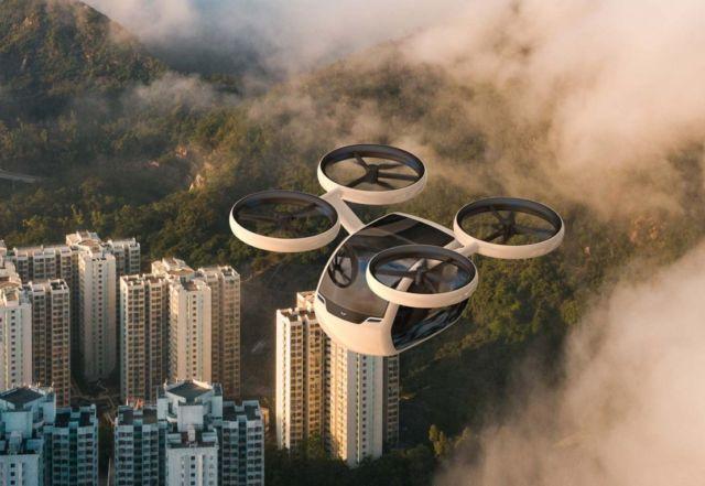 KITE Passenger Drone concept (7)