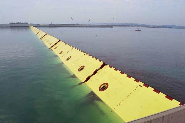 MOSE Flood Barrier protecting Venice (3)