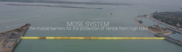 MOSE Flood Barrier protecting Venice (2)