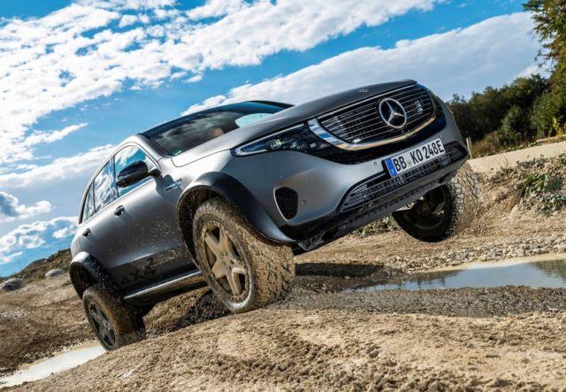 Mercedes electric EQC 4x4² SUV Concept