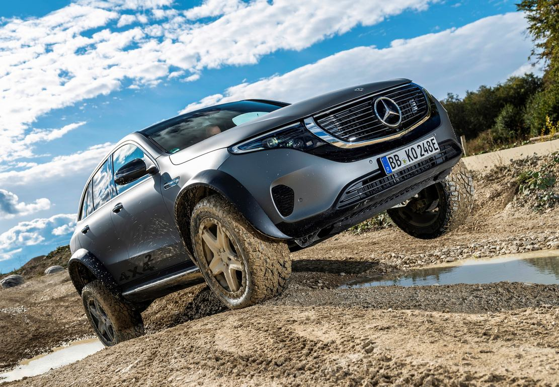 Mercedes electric EQC 4×4² SUV Concept