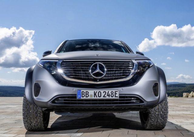 Mercedes electric EQC 4x4² SUV Concept (8)