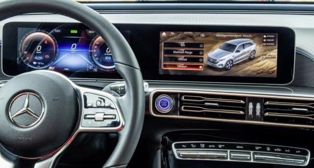 Mercedes electric EQC 4x4² SUV Concept (6)