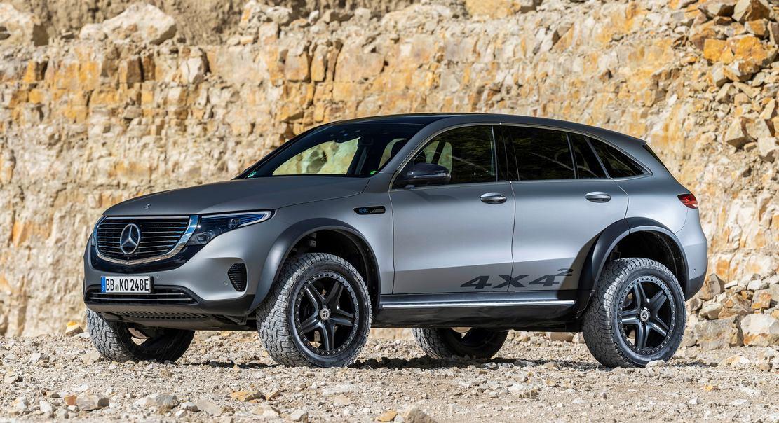 Mercedes electric EQC 4x4² SUV Concept (2)