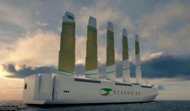 Oceanbird Wind-powered Cargo Vessel