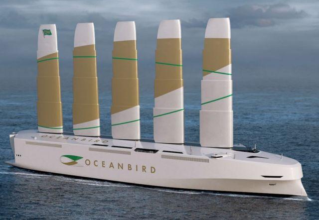 Oceanbird Wind-powered Cargo Vessel (3)