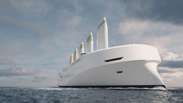 Oceanbird Wind-powered Cargo Vessel (2)