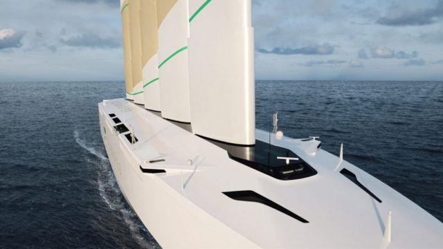 Oceanbird Wind-powered Cargo Vessel (1)