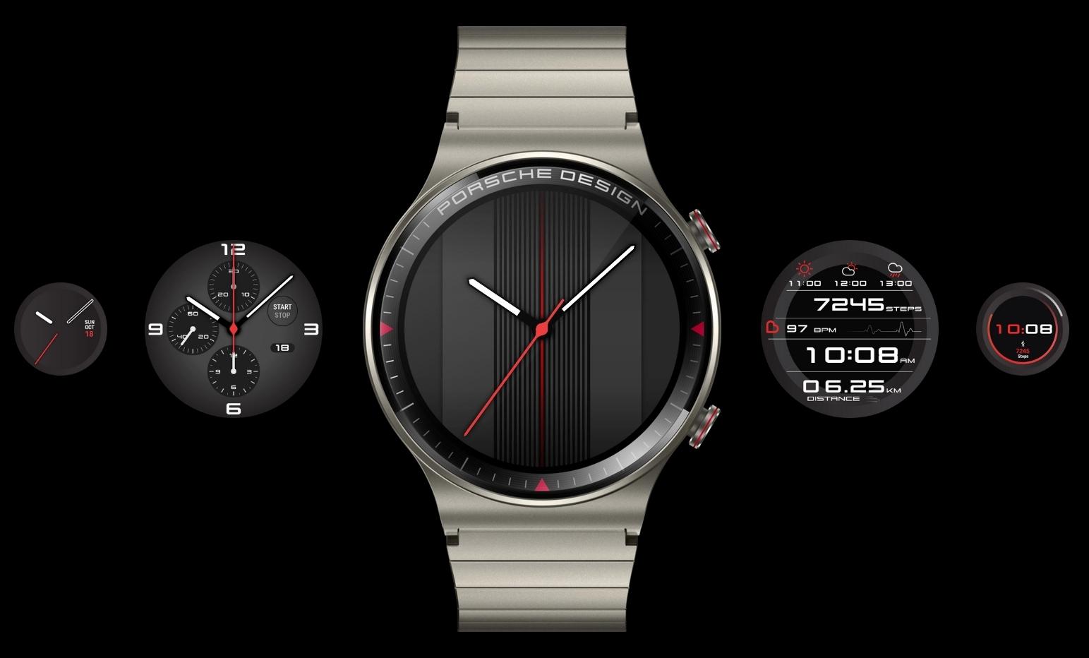 Porsche – Huawei GT 2 Smartwatch