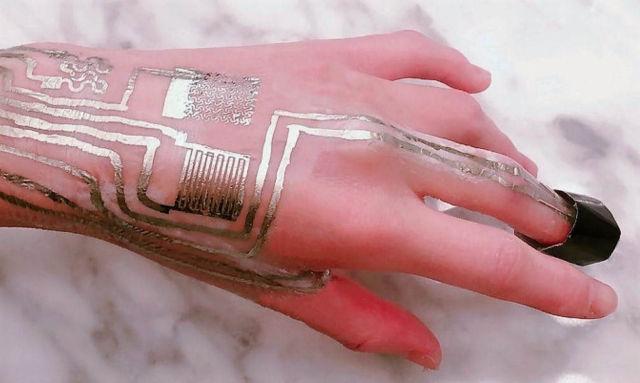 Printing Wearable Sensors directly on Skin