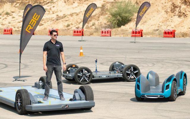REE innovative vehicle platforms