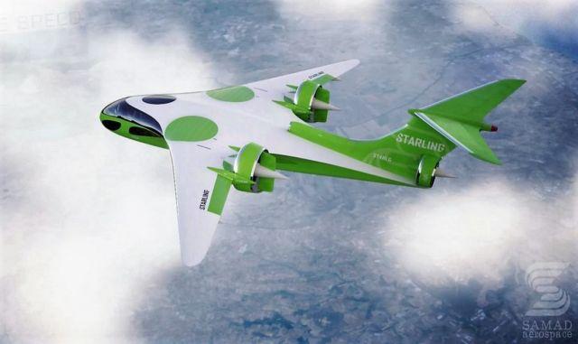 Samad Aerospace high-speed hybrid VTOL jet planes