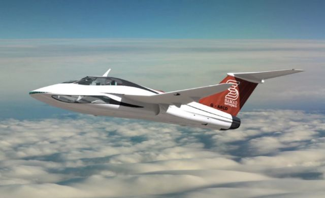 Samad Aerospace high-speed hybrid VTOL jet planes (4)