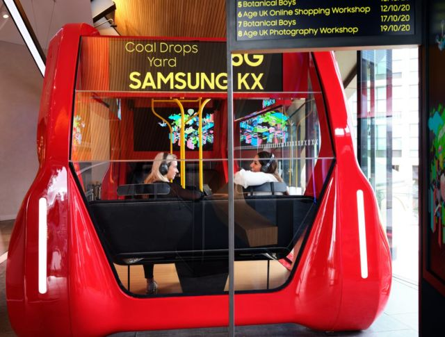 Samsung KX launches 5G Bus (1)