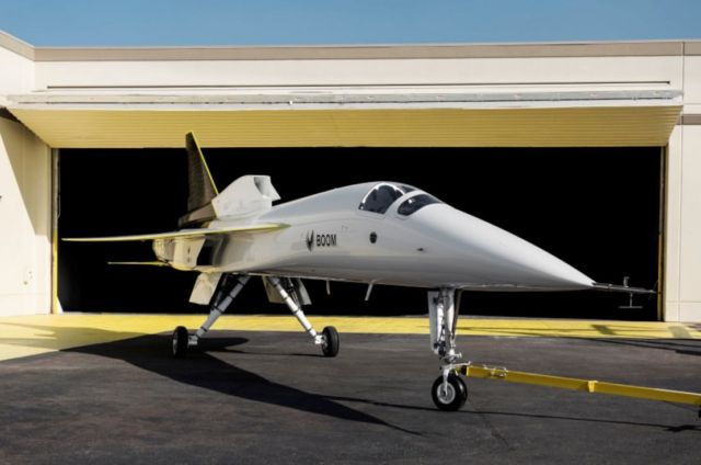 Supersonic XB-1 unveiled in its fully assembled form