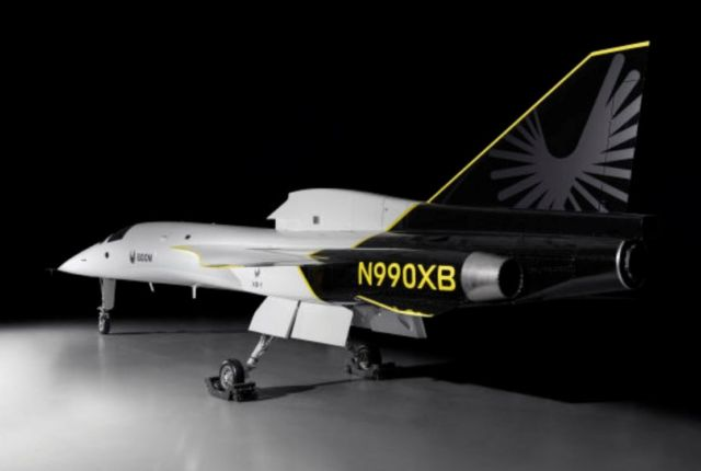 Supersonic XB-1 unveiled in its fully assembled form (2)