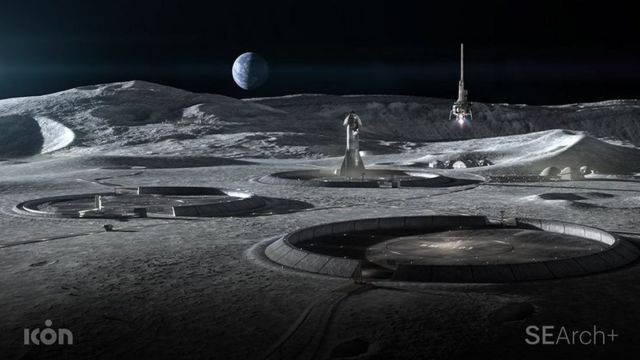 The Construction that could Support Future Exploration of the Moon (2)