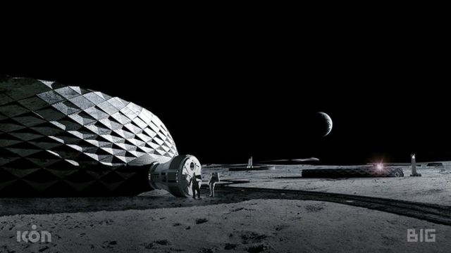 The Construction that could Support Future Exploration of the Moon (1)