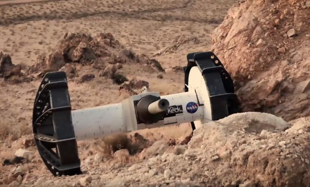 Transforming Rover to explore the Toughest Terrain on Mars