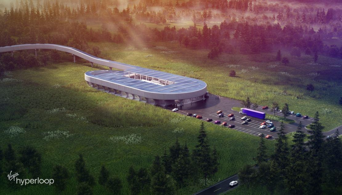 Virgin Hyperloop to build in West Virginia its new certification center (4)