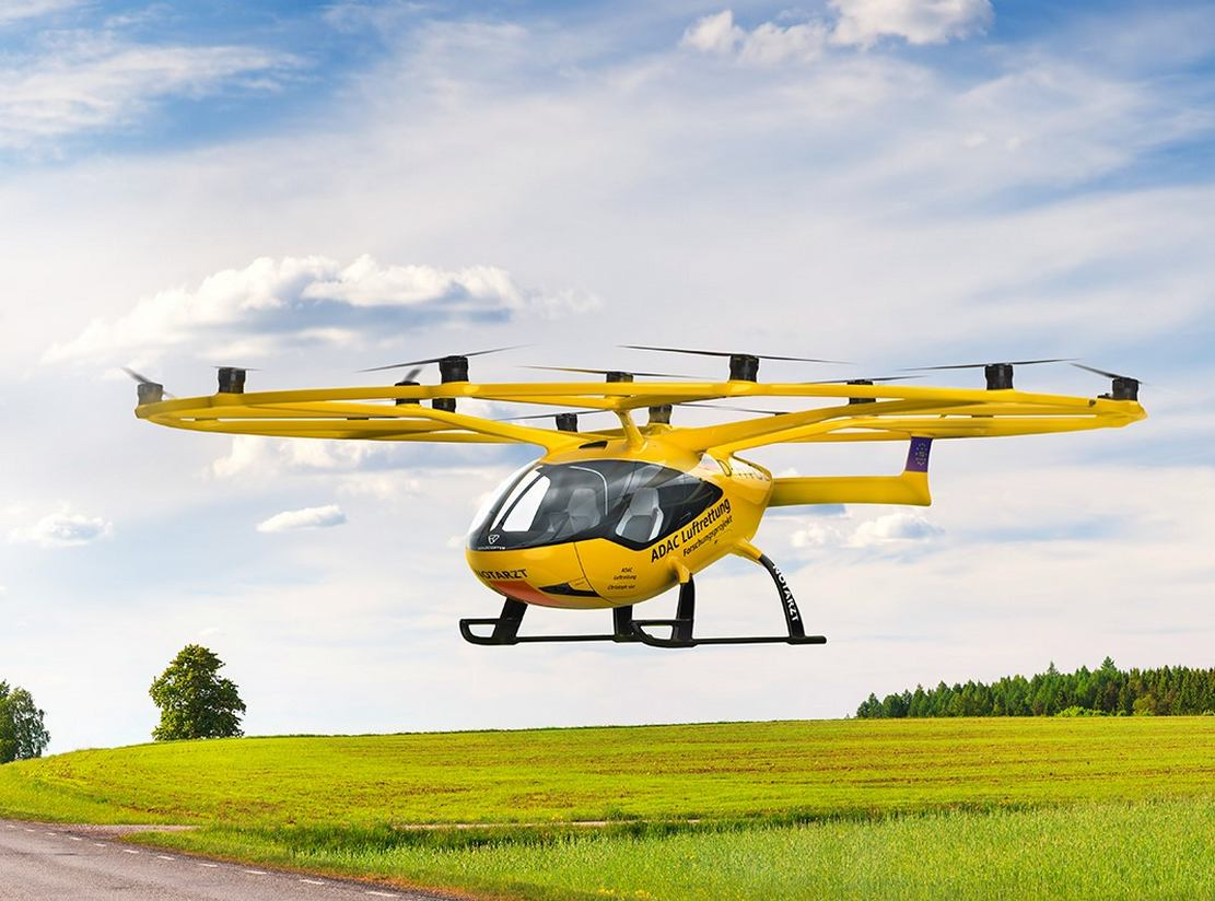 Volocopter Air Taxi to start Air Rescue tests