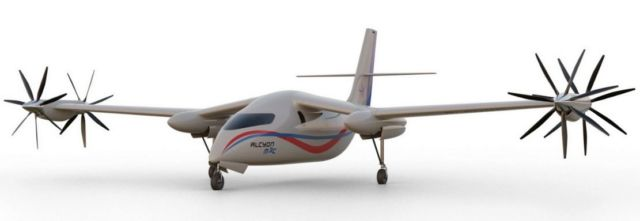 Alérion M1h and Alcyon M3c hydrogen-powered aircraft