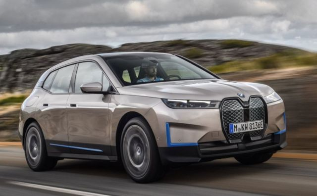 BMW iX electric crossover