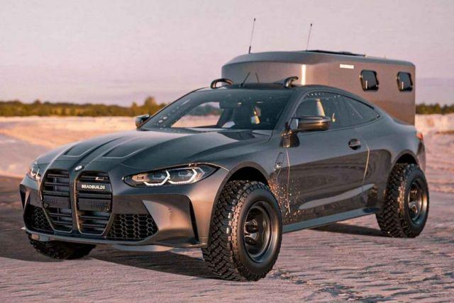 Bradbuilds BMW M4 Coupe Camper concept