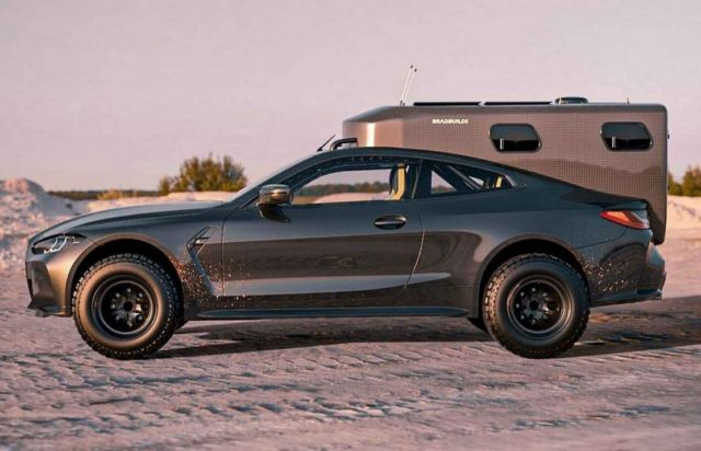 Bradbuilds BMW M4 Coupe Camper concept (5)