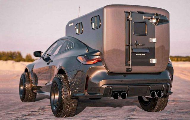 Bradbuilds BMW M4 Coupe Camper concept (4)