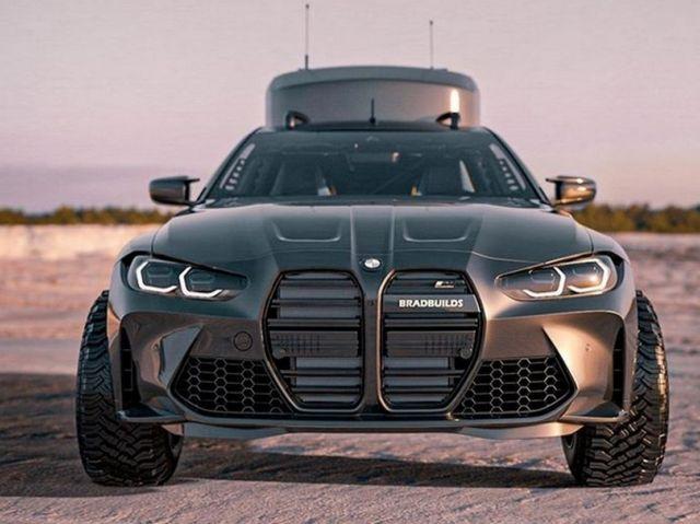 Bradbuilds BMW M4 Coupe Camper concept (3)