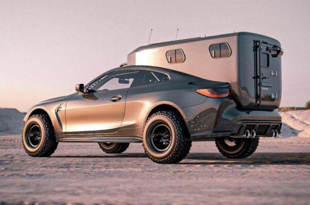 Bradbuilds BMW M4 Coupe Camper concept (2)