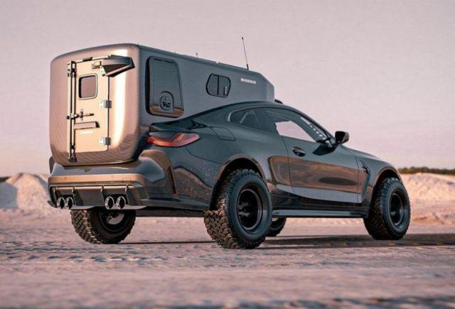 Bradbuilds BMW M4 Coupe Camper concept (1)