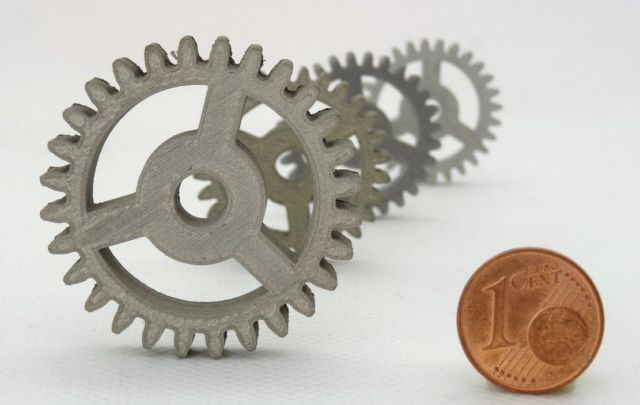 Desktop 3D printing in Metal or Ceramics