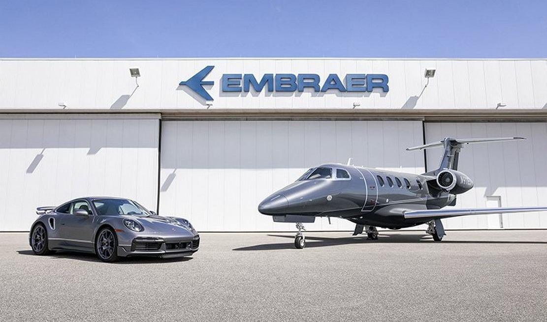 Embraer - Porsche perfect jet & car Duet (6)