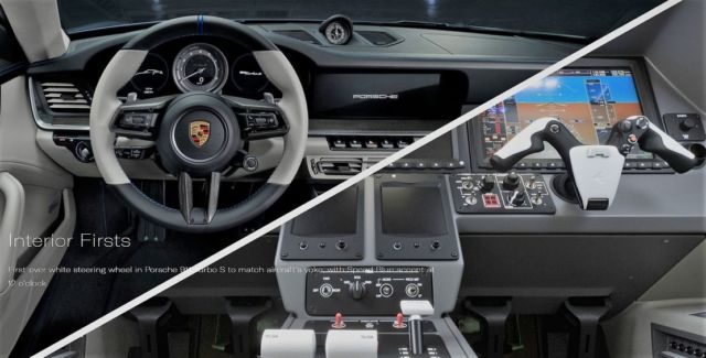 Embraer - Porsche perfect jet & car Duet (1)