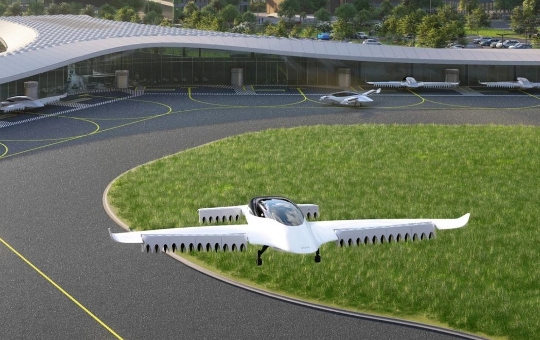 Flying Taxi Vertiport in Florida by 2025 (4)