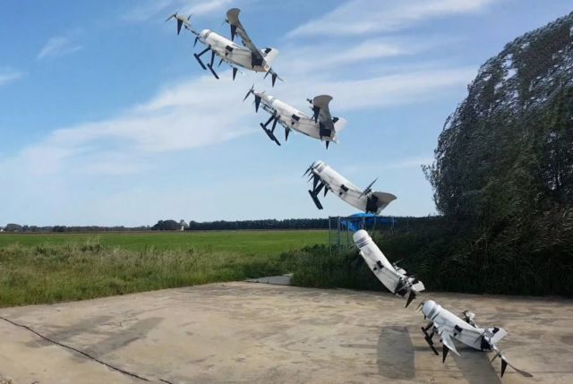 Hydrogen-powered Drone flies longer and greener