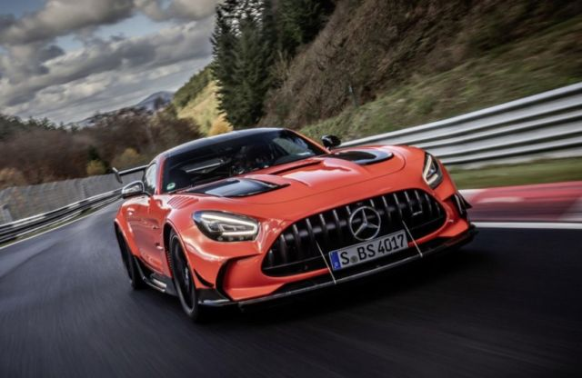 Mercedes-AMG GT Black Series is fastest production car at Nürburgring