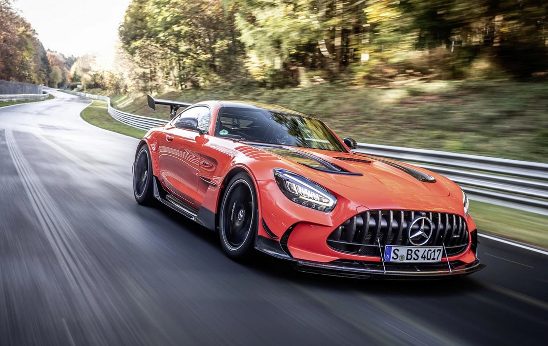 Mercedes-AMG GT Black Series is fastest production car at Nürburgring