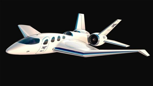 Pegasus Vertical Business Jet