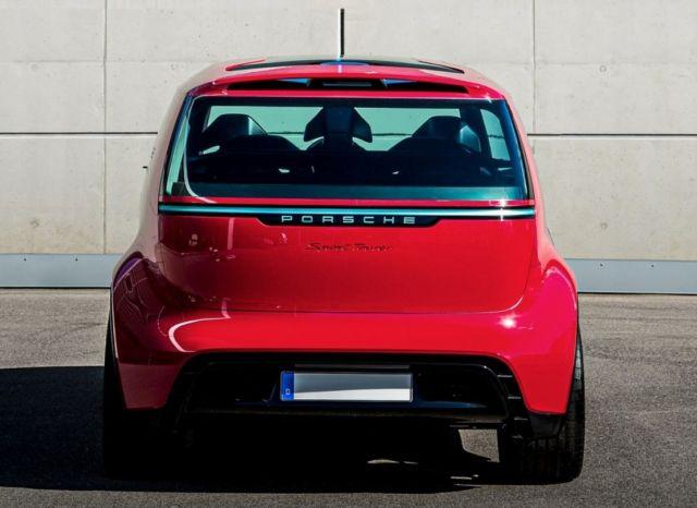 """Porsche vision """"Renndienst"""" electric minivan project (2)"""