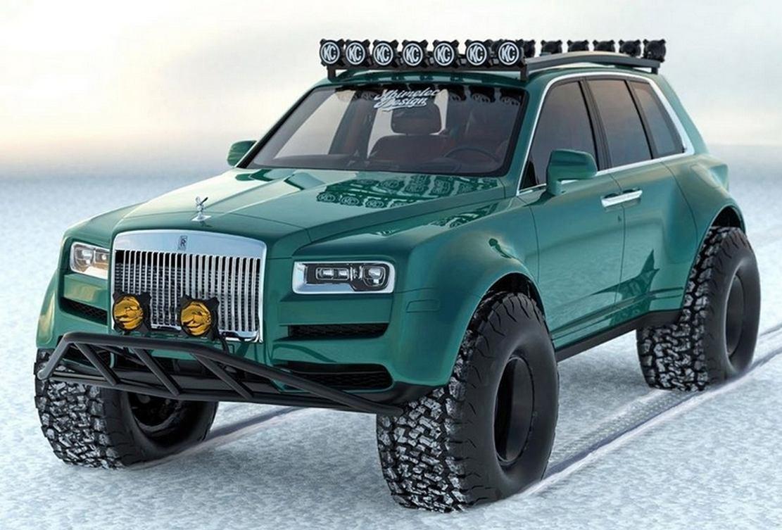 Rolls Royce Cullinan Arctic SUV concept (7)