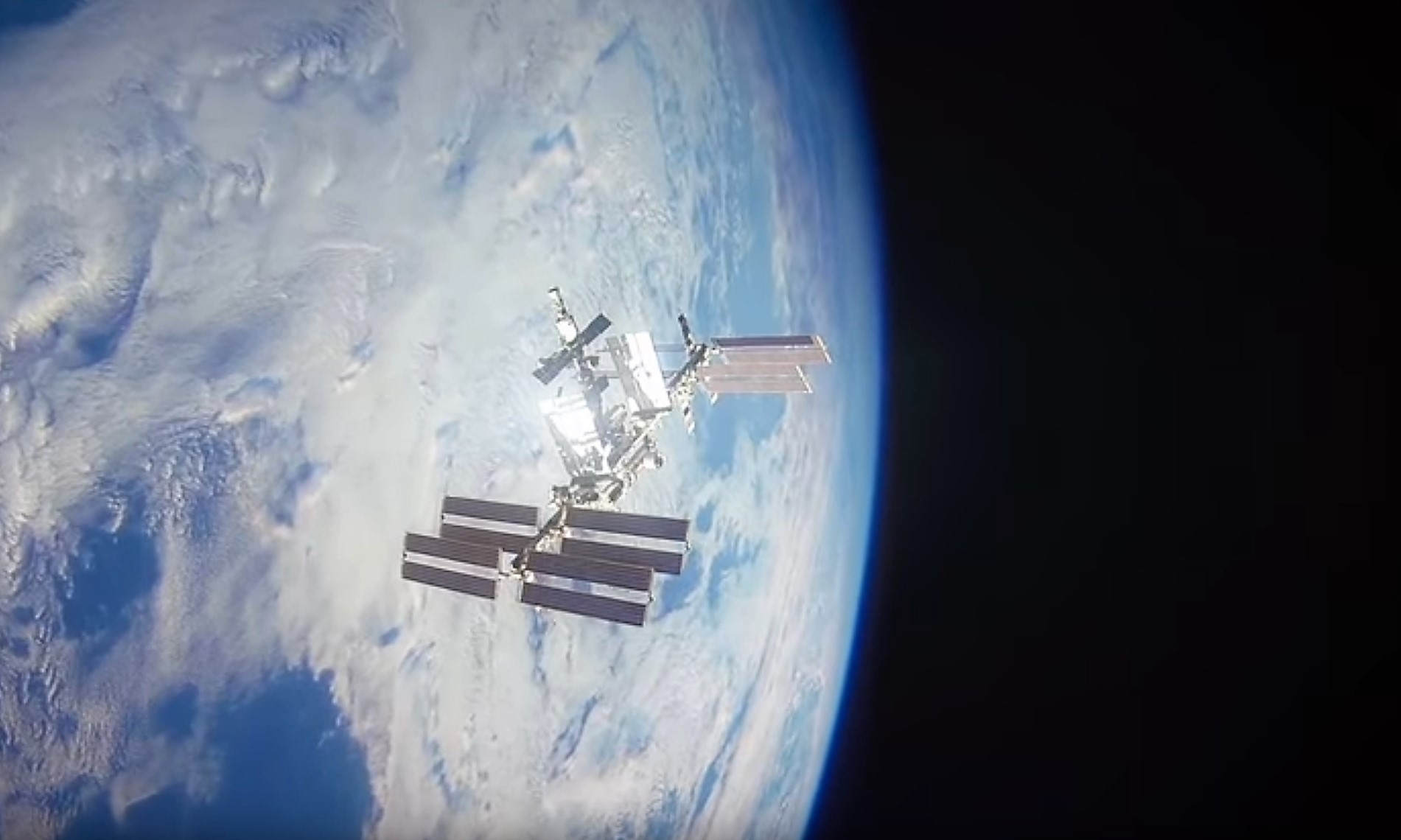 Space Station- 20 years in 60 seconds