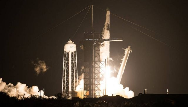 SpaceX Launches NASA Astronauts on historic Space Station mission